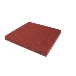 Piastrelle antitrauma rosse stock peit italia - Piastrelle gomma antitrauma ...